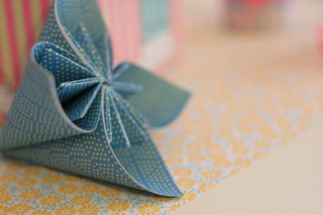 tiger origami paper