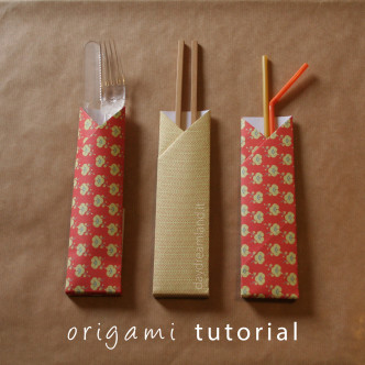 origami tutorial by daydreamland