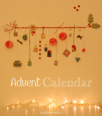 handmade advent calendar daydreamland