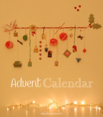 handmade advent calendar daydreamland