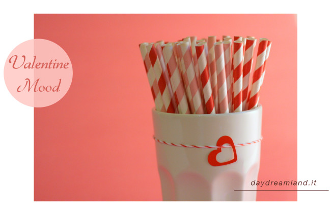 Valentine Ikea glass straws photo bakers twine